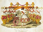The queen of flowers, pantomime for flute, Viennese operetta. Austria,19th century.  Vienna, Historisches Museum Der Stadt Wien (History Museum)