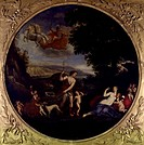 Venus and Adonis, by Francesco Albani (1578-1660).  Rome, Galleria Borghese (Archaeological And Art Museum)