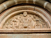romanesque art church portal