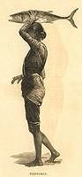 Fisherwoman , 25th March 1876 , India