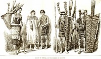Nagas of Kohima ; 11th April 1891 ; on the border of Manipur ; India