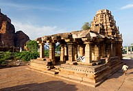 Yellamma temple is a late Chalukya temple built in 11th century ; Badami ; Karnataka ; India