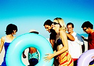 Group Carrying Beach Inflatables