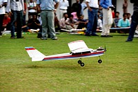 Aircraft model made by iit , Powai , Bombay Mumbai , Maharashtra , India