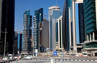 Doha downtown district West Bay, Qatar