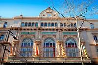 Barcelona Gran Teatro del Liceo Liceu ramblas