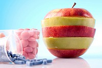 Food Supplements, nutrition concept
