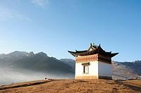 Tibetan shrine