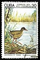 Cuban stamp.