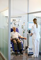 Box chemotherapy, Onkologikoa Hospital, Oncology Institute, Case Center for prevention, diagnosis and treatment of cancer, Donostia, San Sebastian, Gi...