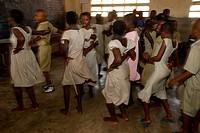 School dance show, Togo.