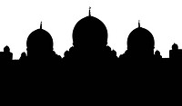 Islamic Mosque Silhouette Illustration