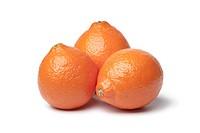 Whole fresh Tangelos