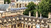 Aerial View Brazenose College Oxford UK