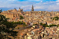 Toledo, Old town, Cahedral, UNESCO World Heritage site, Castilla la Mancha, Spain.