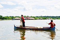 Fishermen in the Cispata Bay, San Antero, Cordoba, Colombia