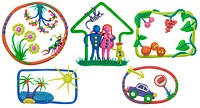 My life - house, family, car, rest, meal, garden