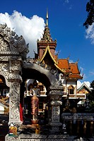 Thailand, Chiang Mai city, Wat Bupparam - Buddhist Temple, This temple was founded by King Muang Kaew in 1497.