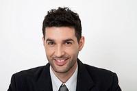 Mid-adult businessman, portrait