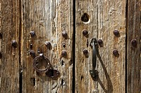rustic oak wood