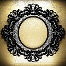 vintage iron frame