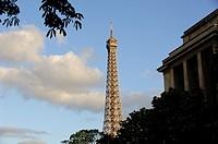 Tour Eiffel. Paris, France.