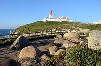 Cabo da Roca is the westernmost point in mainland europe and it´s located in the municipality of Sintra, district of Lisbon in Portugal. In this photo...