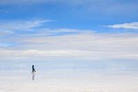 Salar de Uyuni, Salt Flat Tours, Altiplano, Southwest Bolivia.