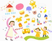 illustration of kindergarten