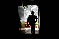 Antonio Mulero, owner of Los Tamayos organic farm, leaves a room in Prado del Rey, Cadiz, Andalusia, Spain, June 24, 2013. Los Tamayos organic farm ha...