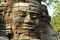 The ancient ruins at Banteay Chhmar near Battambang, Cambodia.