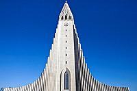Hallgrímur Church, Hallgrimskirkja, Reykjavik, Iceland
