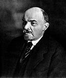 Vladimir Ilich Lenin, Russian Bolshevik leader, Moscow, Russia, 4 October 1922. Lenin (1870-1924) became leader of the Bolshevik faction of the Russia...