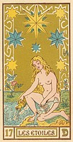 Tarot Card 17 - Les Etoiles (The Stars).