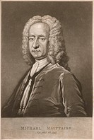 MICHAEL MAITTAIRE French-born scholar and antiquary