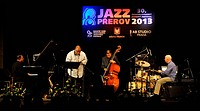 US Buster Williams Quartet performs at Czechoslovak Jazz Festival in Prerov, Czech Republic, October 19, 2013. Pictured left to right: Eric Scott Reed...
