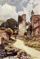 A pictureque Dorset village