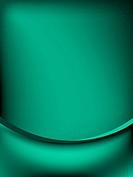Green curtain fade to dark card. EPS 10