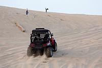 Qatar - Sealine coast and dunes - Buggy in sand dunes