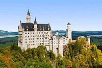 Germany, Bavaria, Schwangau, Neuschwanstein Castle.