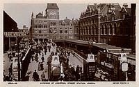 Exterior of Liverpool Street Station, London, England