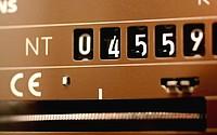electricity meter - 01/01/2009