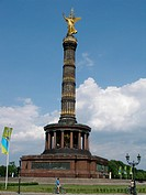 The Victory Column (Siegessaule) in Berlin, Germany, designed in the 1860s to commemorate the Prussian victory in the Danish-Prussian War. By the time...
