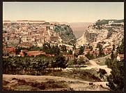 General view, Constantine, Algeria. Date ca. 1899.