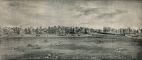 A view of Park-row at Trenton, N.J. Date c1841 May 29.