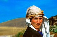 portrait of woman in east Turkey