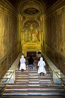 The Scala Sancta. Holy Stairs. Scala Santa. Rome, Italy.