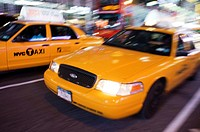 Countless yellow cabs each night travel Theater District area. The taxi (yellow cab) is, for sure, the means of transport most commonly used in the ci...
