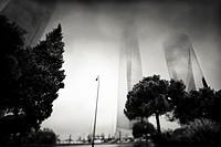 Cuatro Torres, CTBA, Madrid, Spain.