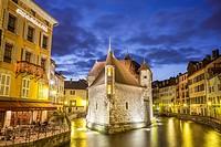 Palais de l´Île, Annecy, Rhône-Alpes, France.